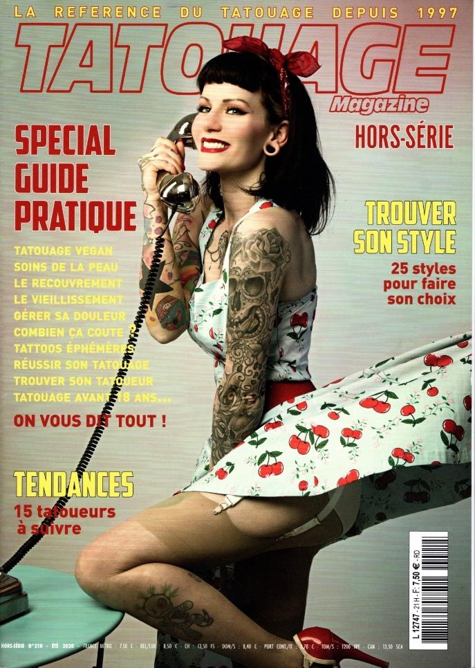 couverture tattoo magazine